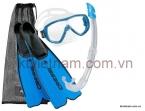 Bộ chân nhái, kính lặn, ống thở