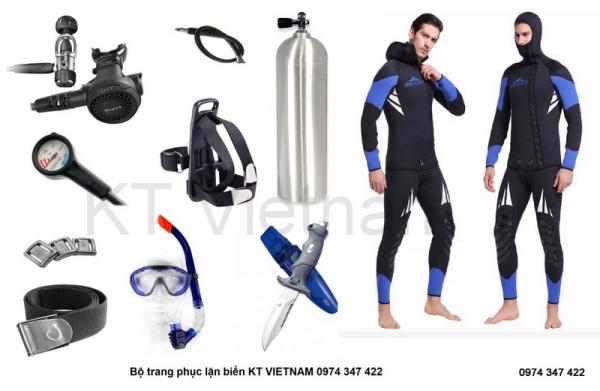 Bộ quần áo lặn 2 mảnh 5mm