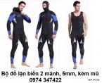 Quần áo lặn 5mm