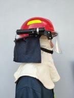 Mũ chống cháy Hàn Quốc (đỏ)