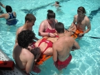 Cáng cứu hộ bể bơi